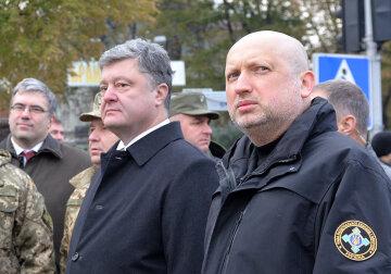 Петр Порошенко, Александр Турчинов