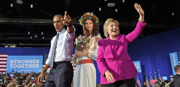 Клінтон-Обама-Україна