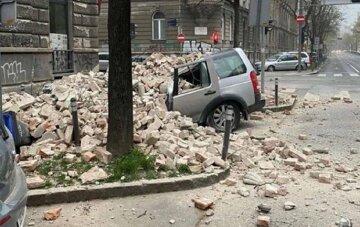 Землетрясение обрушилось на Европу в разгар карантина: кадры разрушений