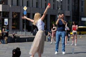 Літо, люди, Україна