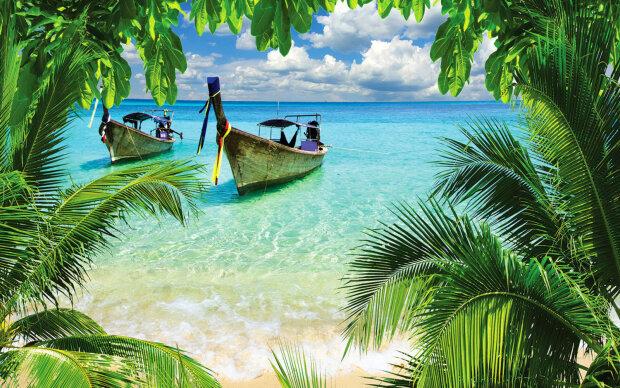 тропики, острова, океан