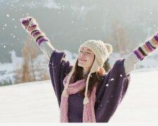 щастя, радість, зима