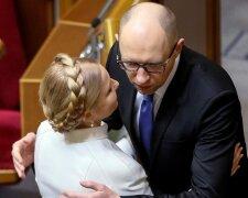 Юлия Тимошенко, Арсений Яценюк