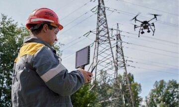 На Днепропетровщине с помощью дрона обследовали почти 400 км электролиний