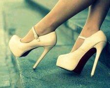 туфли, ноги, девушка