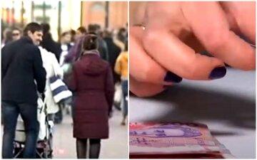 зарплата, украинцы, деньги