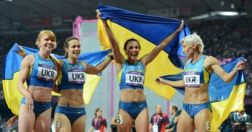 легкая атлетика украина