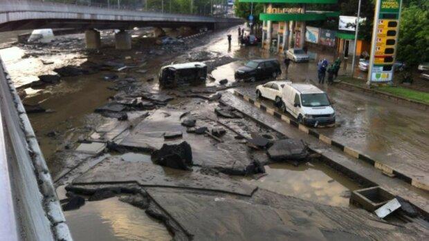 наводнение тбилиси