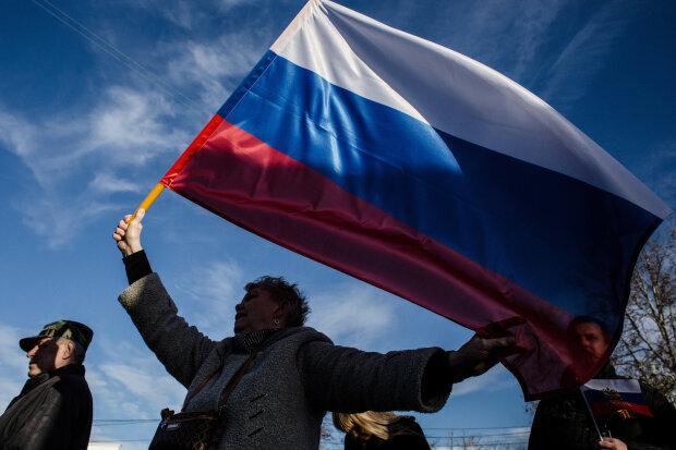Крым, оккупация, флаг России, Getty Images
