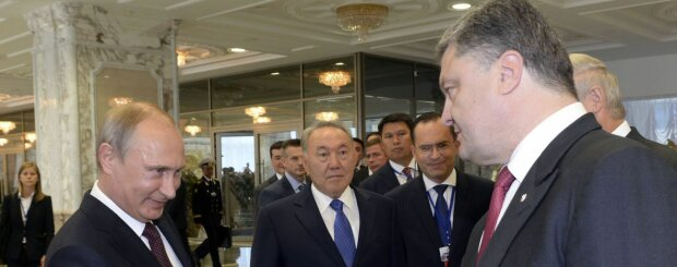 Порошенко Путин