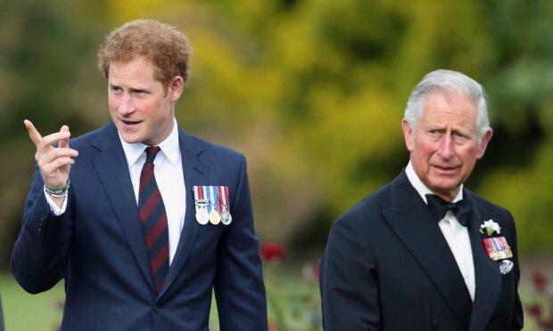 принц Гарри и принц Чарльз