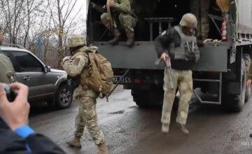 Донбас, військові, скрін