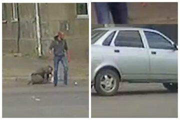 """В Одесі водій вирішив покарати недбайливого пішохода: """"кулаком в обличчя"""", відео"""