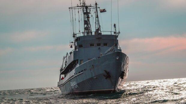 военный корабль, рф