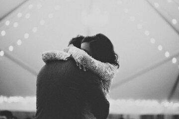 объятия, любовь