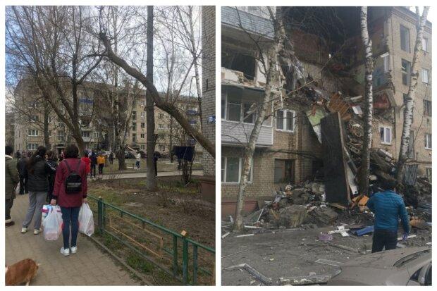 Смертельний вибух у п'ятиповерхівці, обвалився цілий під'їзд за секунду, під завалами люди: кадри