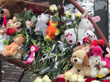 игрушки траур катастрофа кемерово