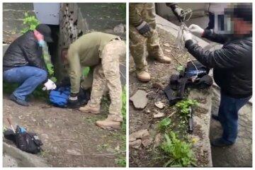 Переполох у центрі Києва: багато зброї та боєприпасів, з'їхалася СБУ