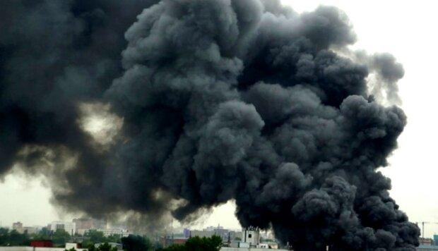 дым пожар