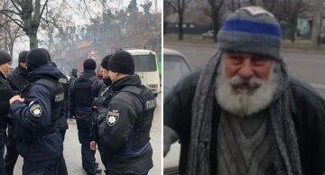 """Старий на """"Жигулях"""" прославився після своїх """"заробітків, у Києві, фото: """"вже прийняла поліція"""""""