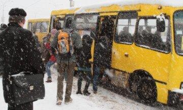 """""""45 хвилин замерзали на морозі"""": водії маршруток не впускають дітей в салон, додому доводиться йти пішки"""