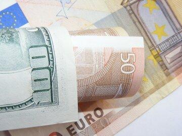 доллар, евро, деньги