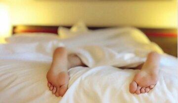 спать, кровать, сон, ноги