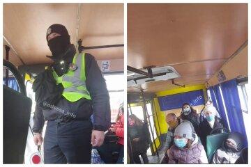 В Одесі копи посилено оглядають маршрутки: відео того, що відбувається