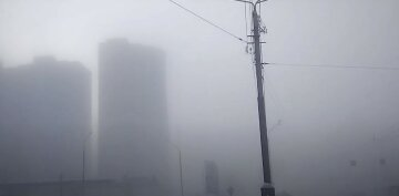 туман, мороз