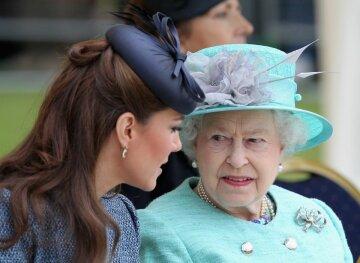 кейт міддлтон, королева єлизавета