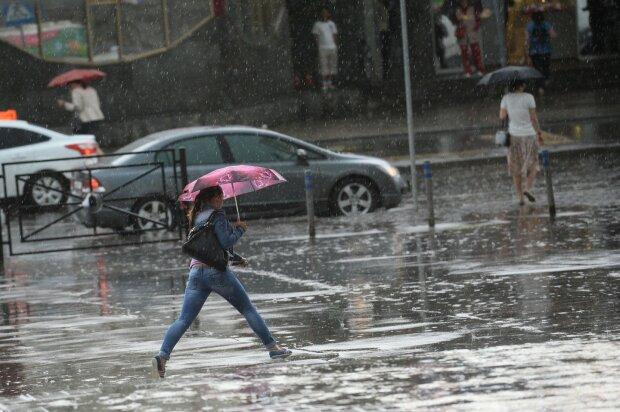 Дощ, літо