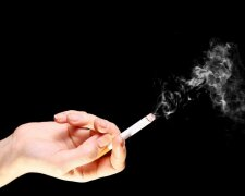 сигарета, дым