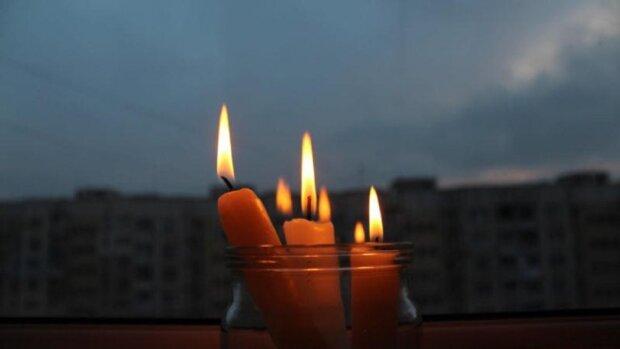 свет, свеча, электричество