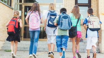 рюкзаки школьники