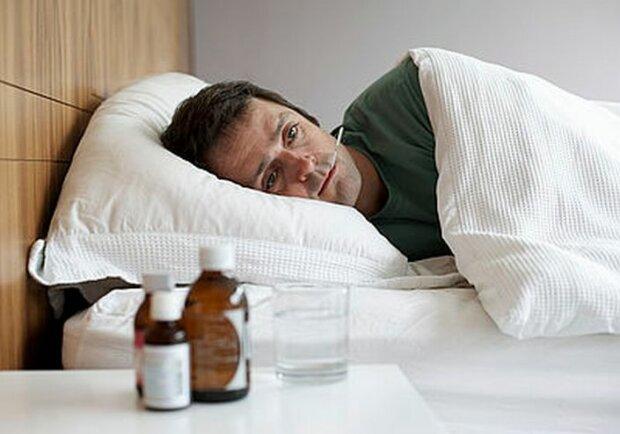 больной болезнь простуда грипп