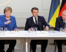 путін, меркель, макрон, нормандська зустріч