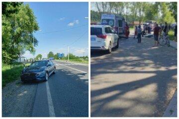 Авто збило на смерть військового ЗСУ: кадри трагедії на Львівщині