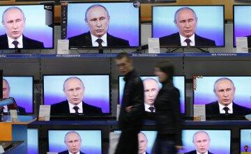 путин, телевизор