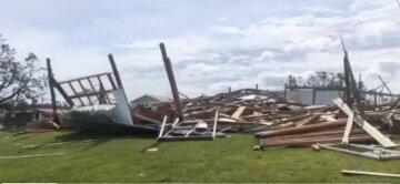ураган, США