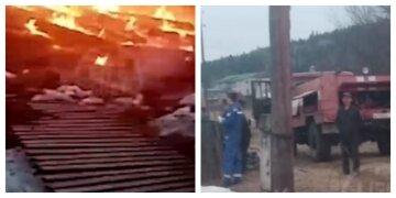 Родителей дома не было: пожар унес жизни четырех малышей, кадры трагедии