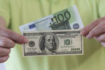 деньги, доллар, евро