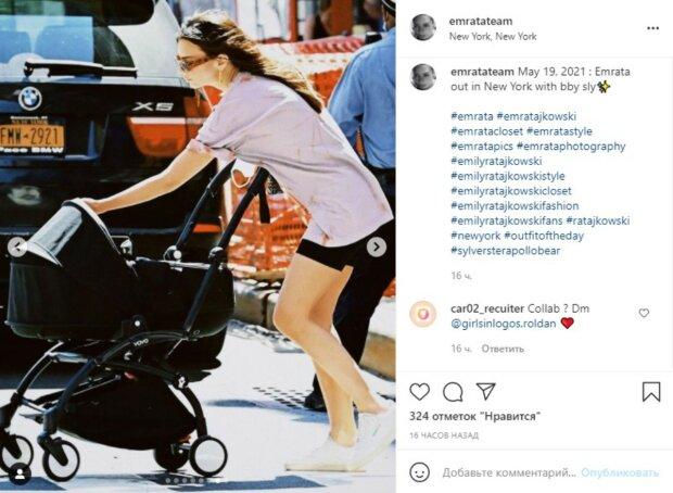 """Эмили Ратаковски покорила фигурой всего через два месяца после родов: """"Не верится, что..."""""""
