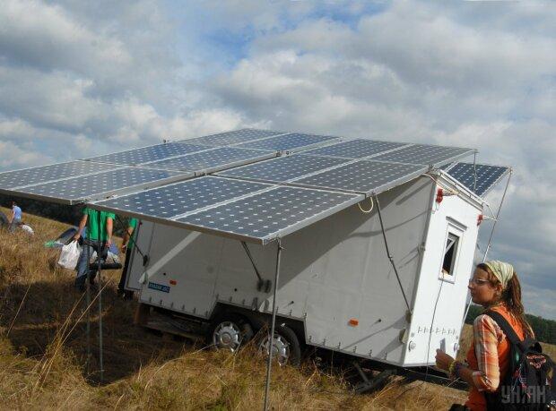 солнечная батарея панель чистая энергия