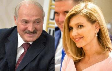 Александр Лукашенко, Елена Зеленская