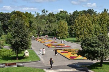 сад Шевченко, Харьков