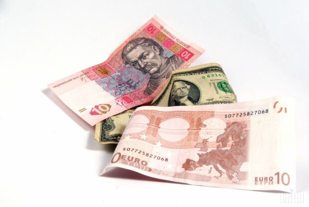 валюта, гривна, доллар, евро