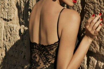 женская спина, красиво