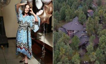 Внучка Ротару показала, как выглядит их особняк за миллион долларов изнутри: колонны и темная мебель