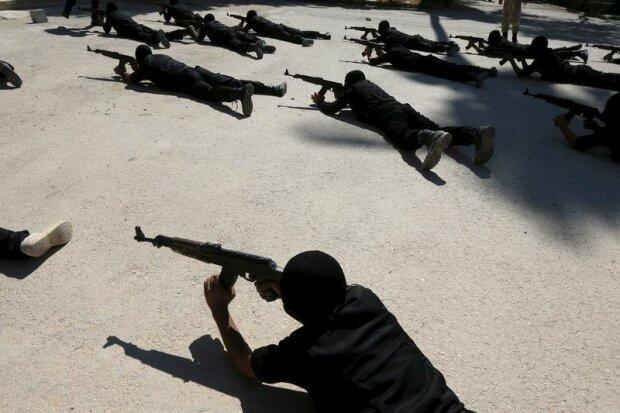 мятежники в Сирии