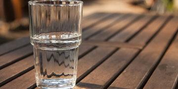 стакан, алкоголь, вода